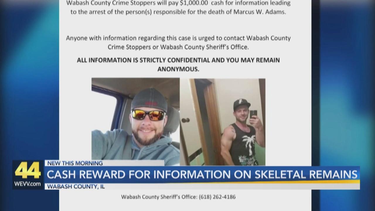 Image for Cash Reward Offered for Information on Wabash County Man's Death