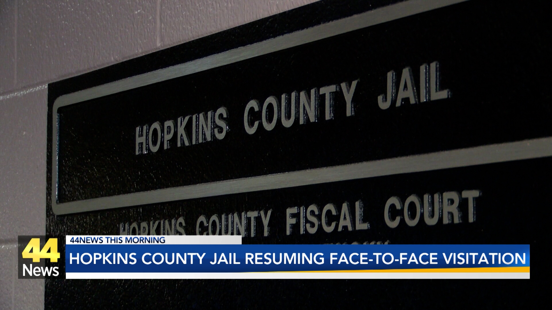 Image for Hopkins County Jail Resuming Visitations