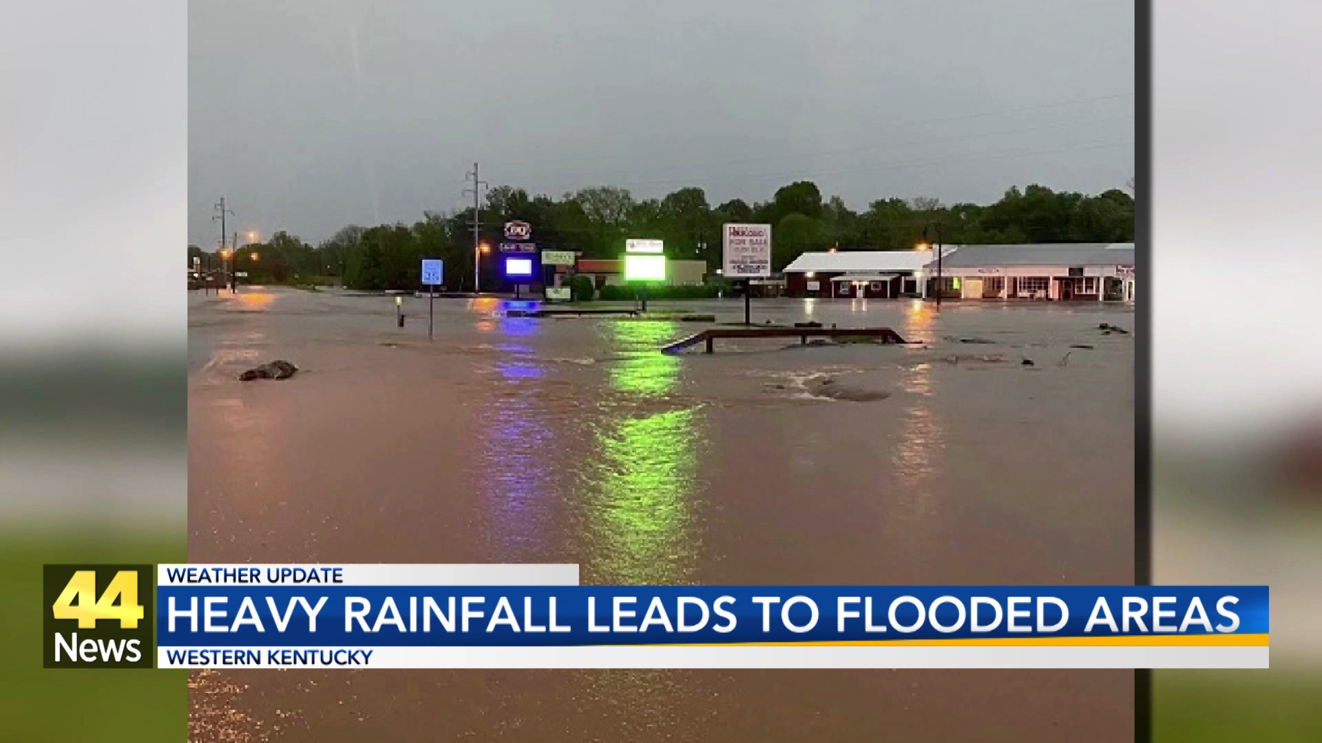 Image for Heavy Rainfall Causes Flooding in Muhlenberg County