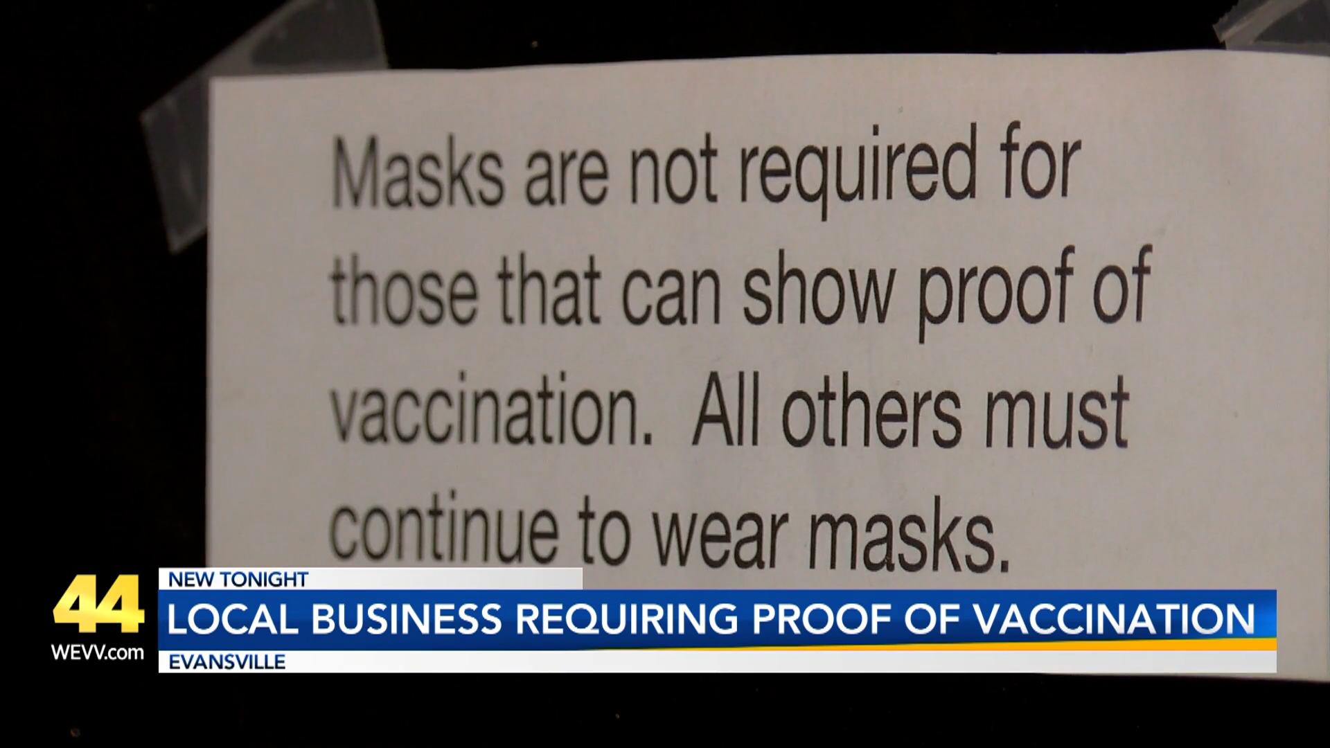 Image for Local Business Requiring Proof of Vaccination