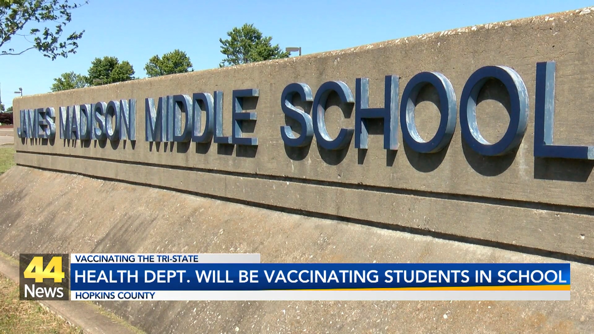 Image for Vaccine Available for Hopkins County Students
