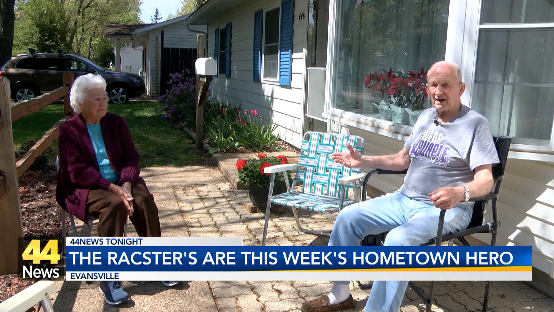 Image for Hometown Heroes: Don and Peggy Racster