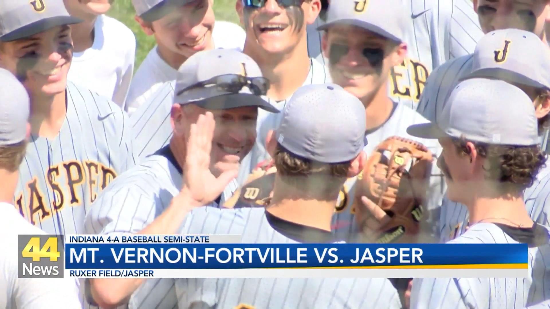 Image for HS Baseball - Mt. Vernon Fortville vs Jasper