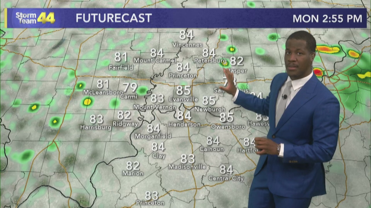 Image for Sporadic Rain Chances as Muggy Air Moves in