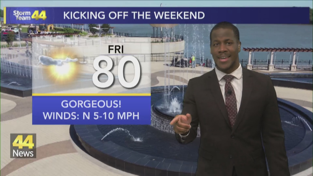 Image for Drier & Cooler Conditions Move in to Kickoff the Weekend