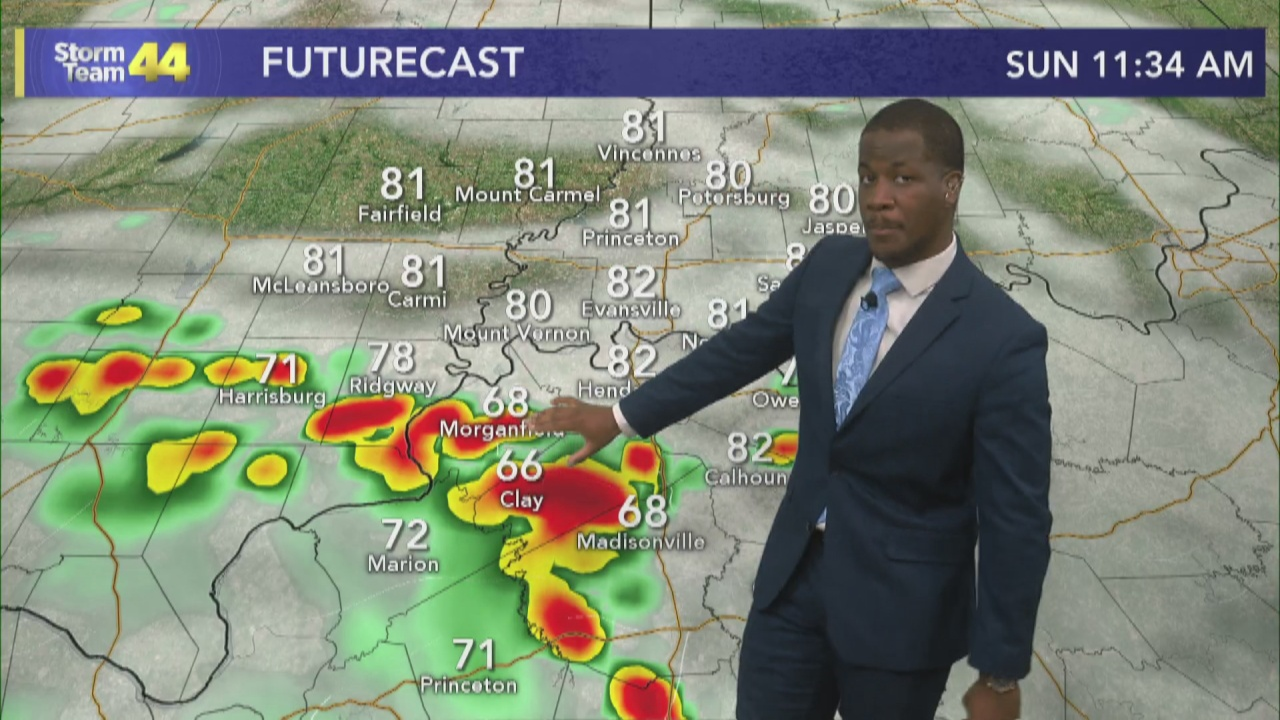 Image for Tracking More Showers & Storms for Sunday
