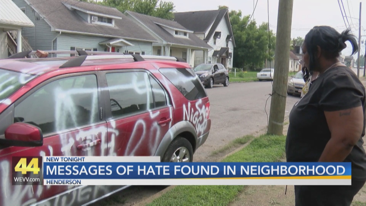 Image for Vehicles and Homes Spray-Painted With Racial Slurs in Henderson