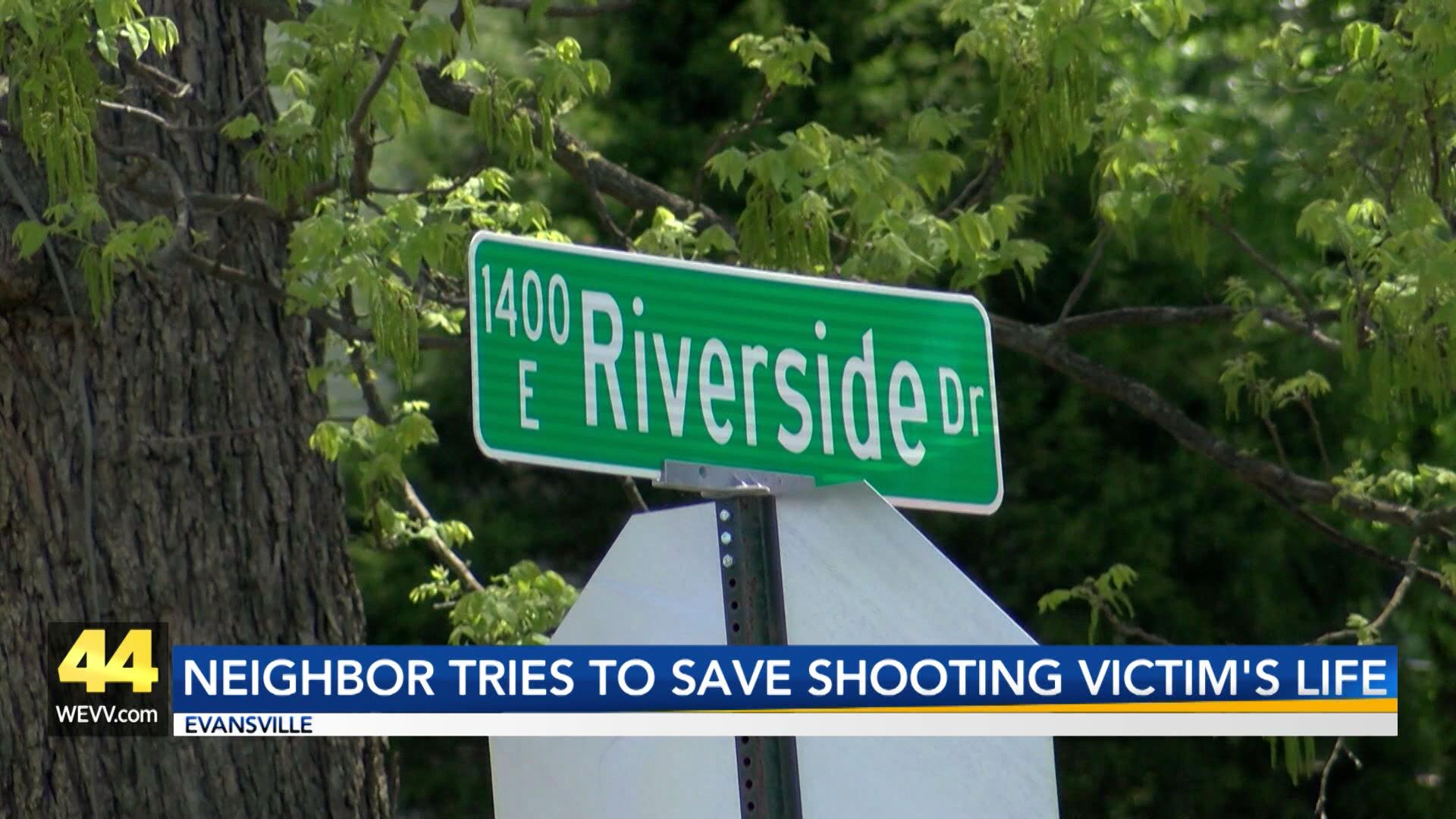 Image for Neighbor Tries To Save Shooting Victim's LIfe