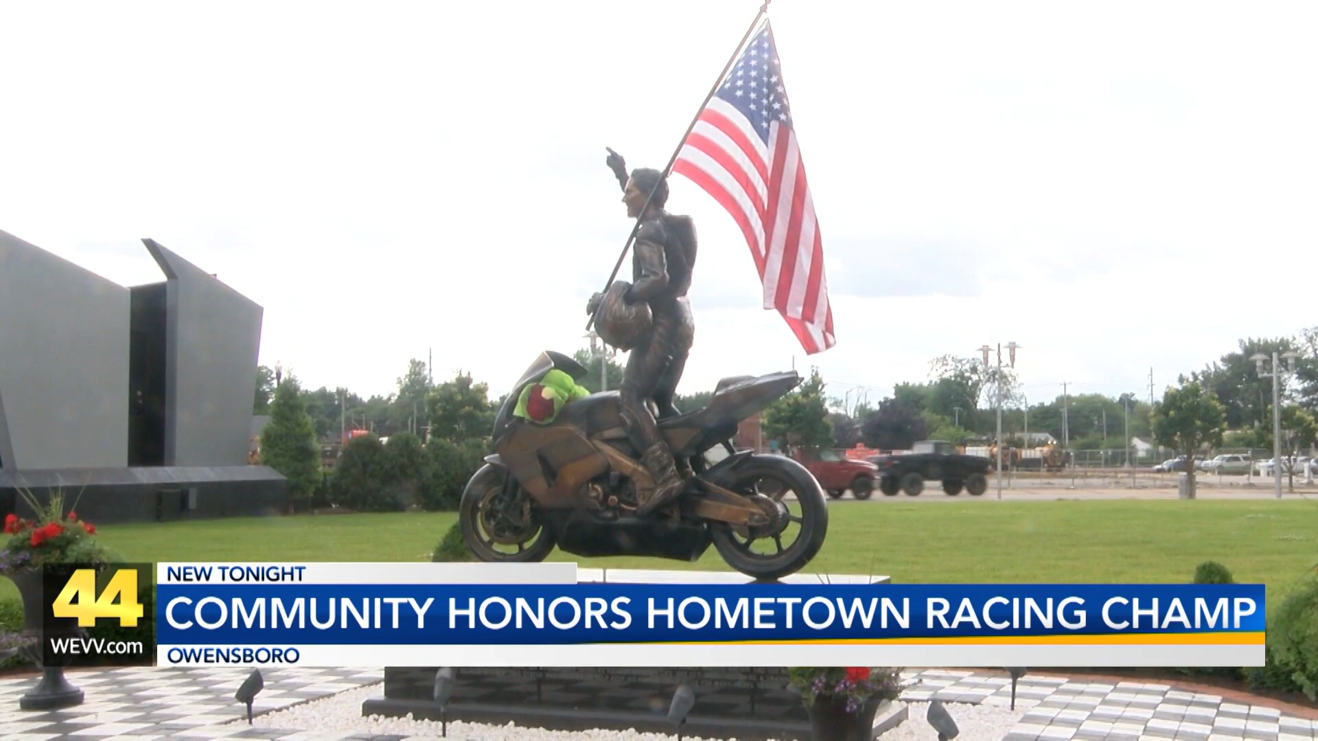 Image for Owensboro Honors Hometown Racing Champion