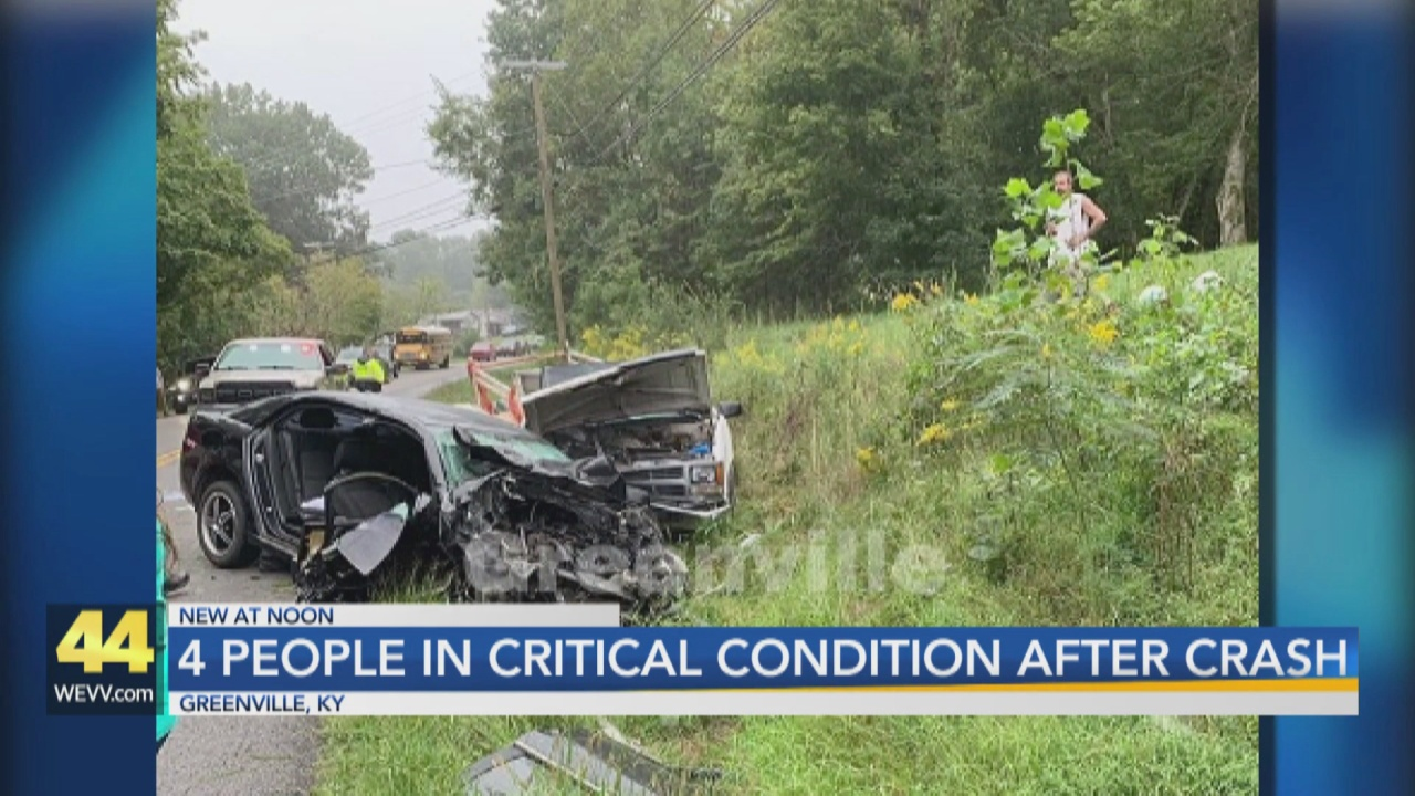 Image for Four People Critically Injured in Muhlenberg County Crash