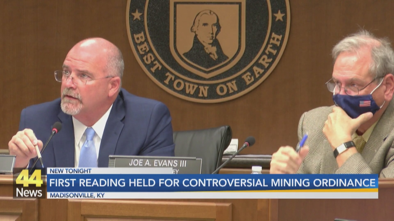 Image for Madisonville City Council Holds First Reading on Mining Ordinance Changes