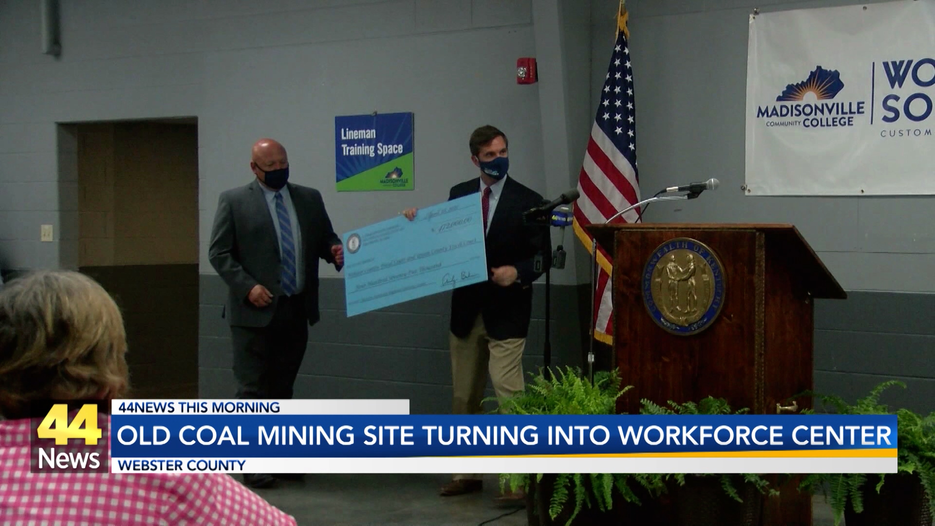 Image for Old Coal Mine Site Turning into Workforce Center
