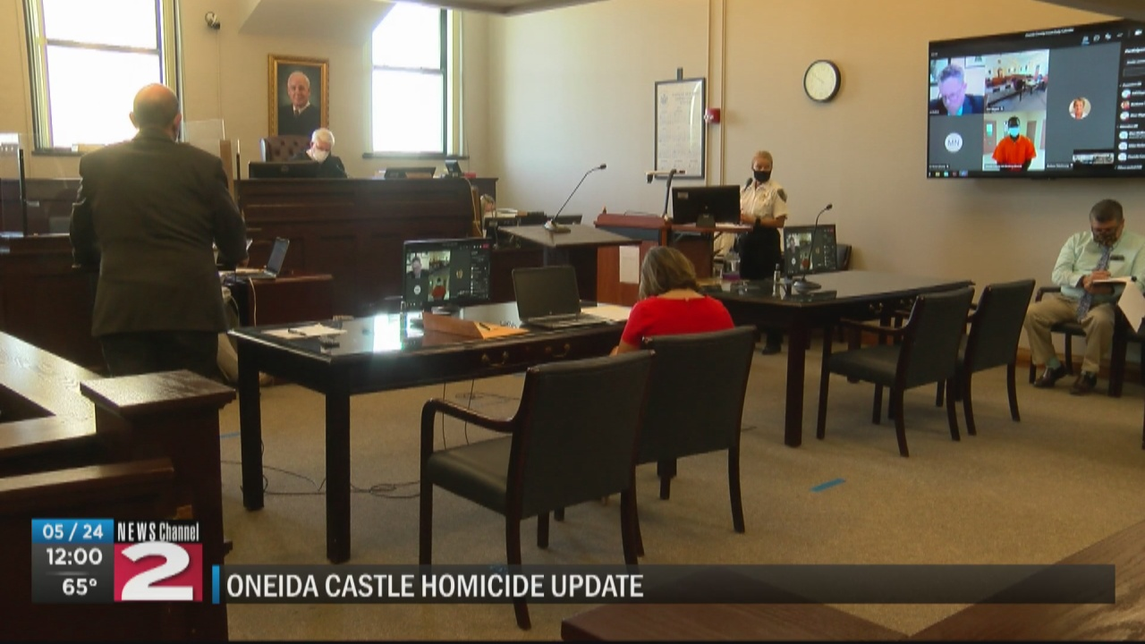 Image for Suspects accused in Oneida Castle murder appear in court