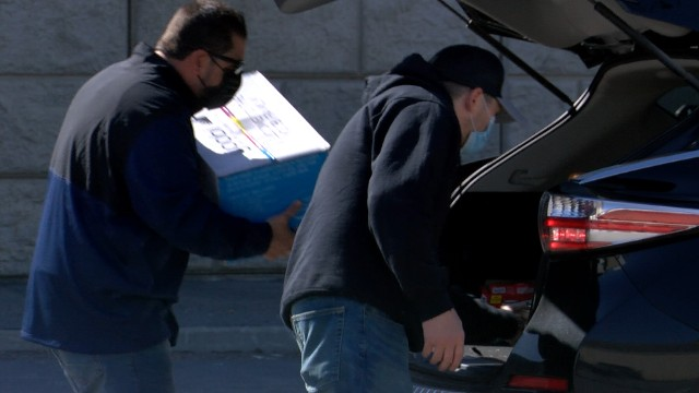 Image for Compassion Coalition, Inc. holds teacher supply drive-thru giveaway