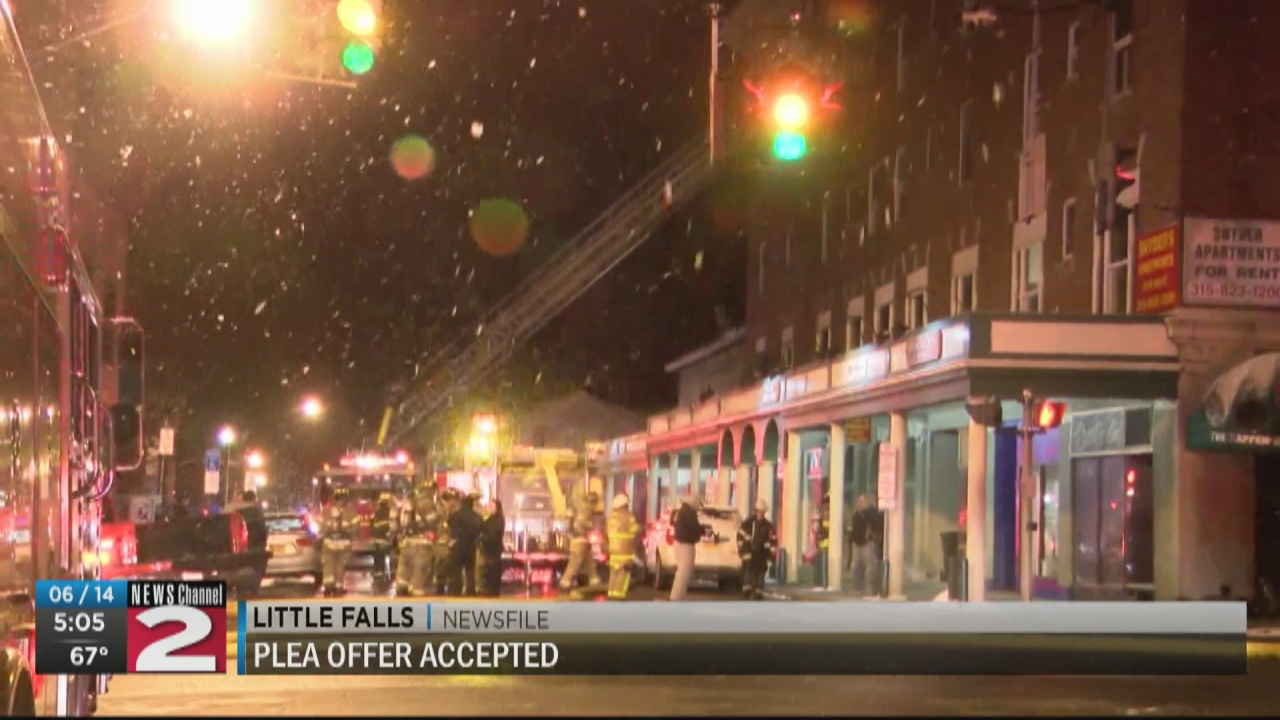 Image for Woman charged in Little Falls apartment fire pleads guilty