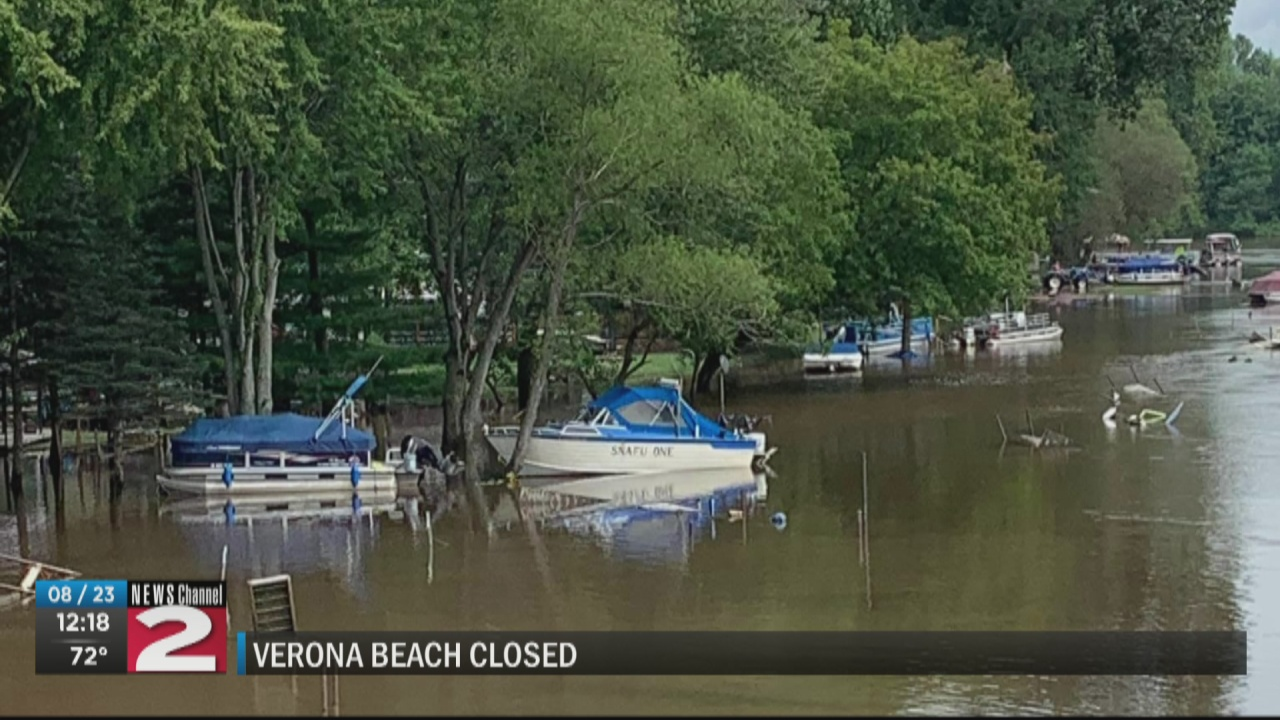 Image for Verona Beach State Park swimming area closed until Wednesday
