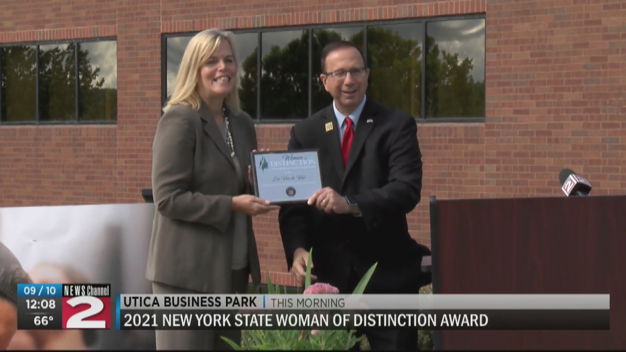 Image for Excellus BlueCross BlueShield regional president honored as NYS 'Woman of Distinction'