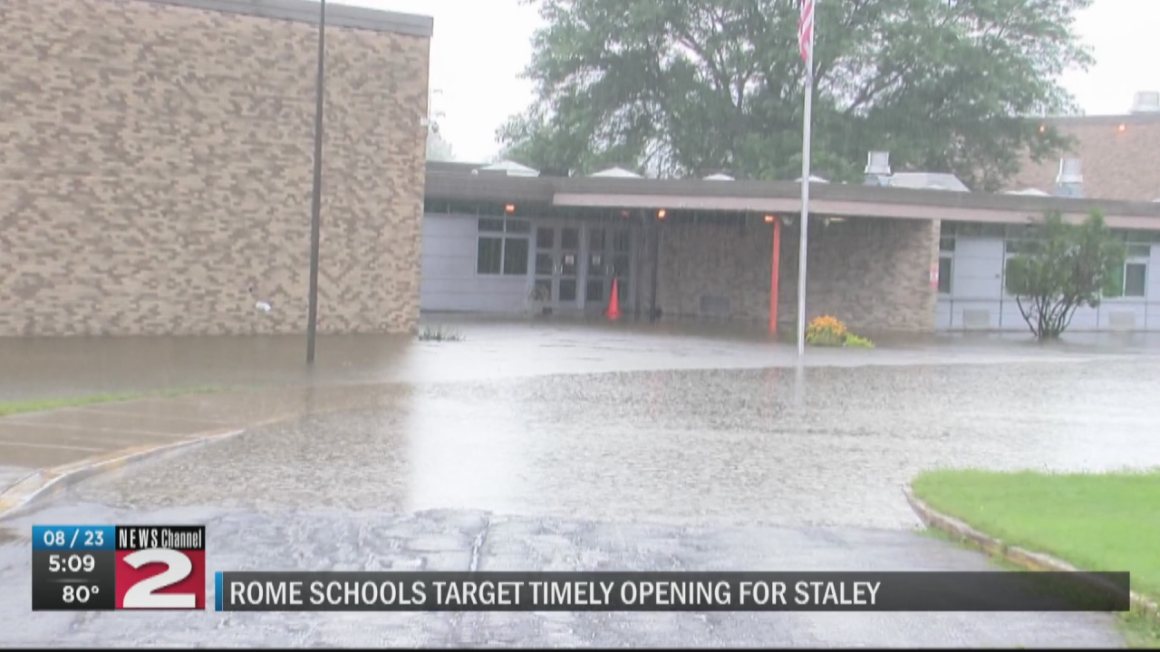 Image for Rome School superintendent targeting on-time opening for Staley Elementary
