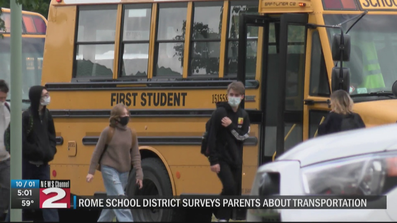 Image for Rome school district reviewing parents' responses to transportation survey