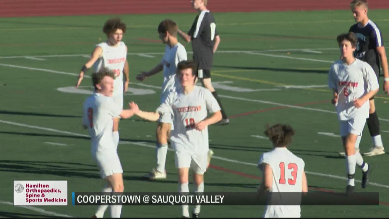 Image for SCORES 10-12-21: No. 9 state-ranked Cooperstown boys soccer remains unbeaten with win over Sauquoit; girls Nos. 1 New Hartford, Poland also remain perfect