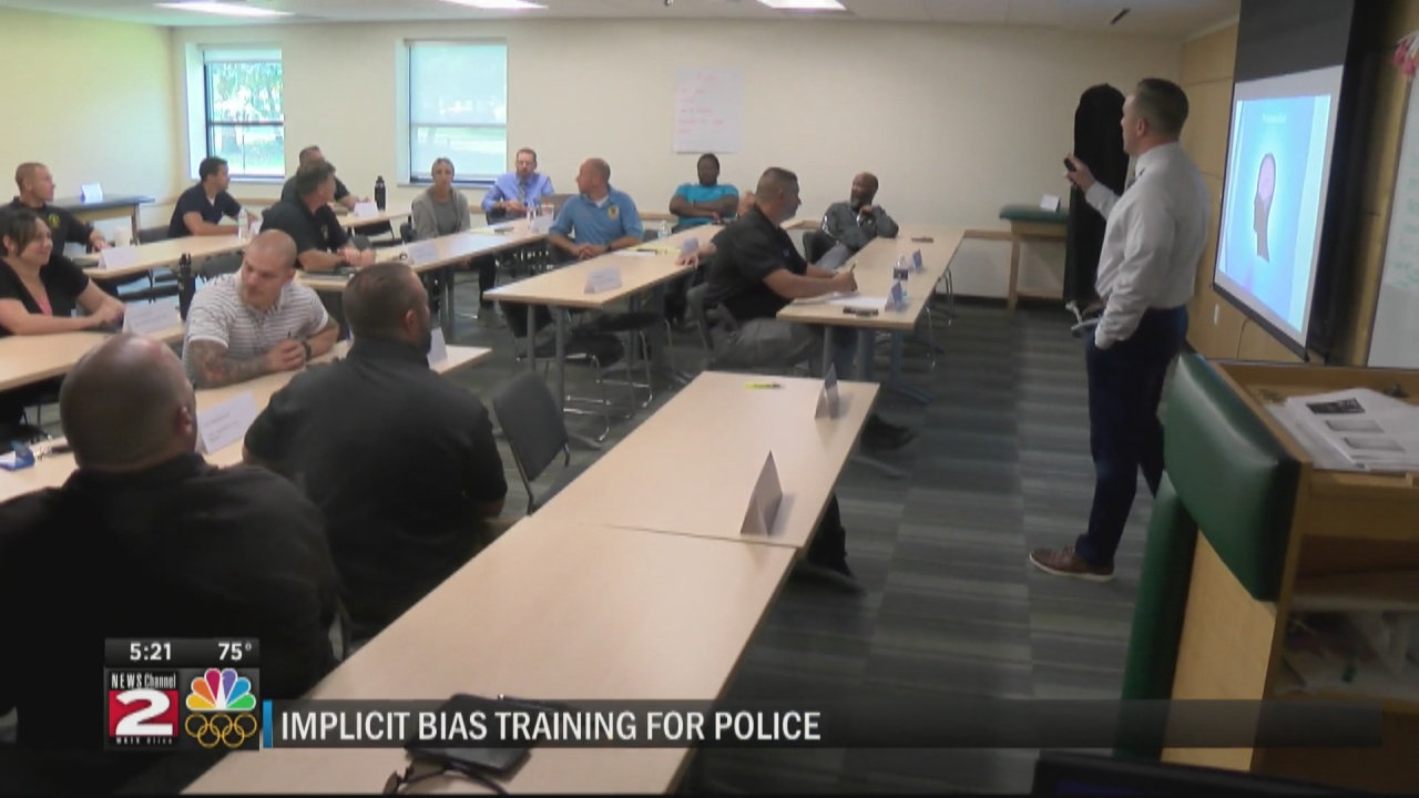 Image for Police undergo implicit bias training