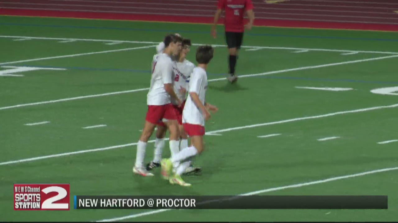 Image for SCORES 10-7-21: New Hartford boys soccer remains unbeaten in TVL play with win over Proctor