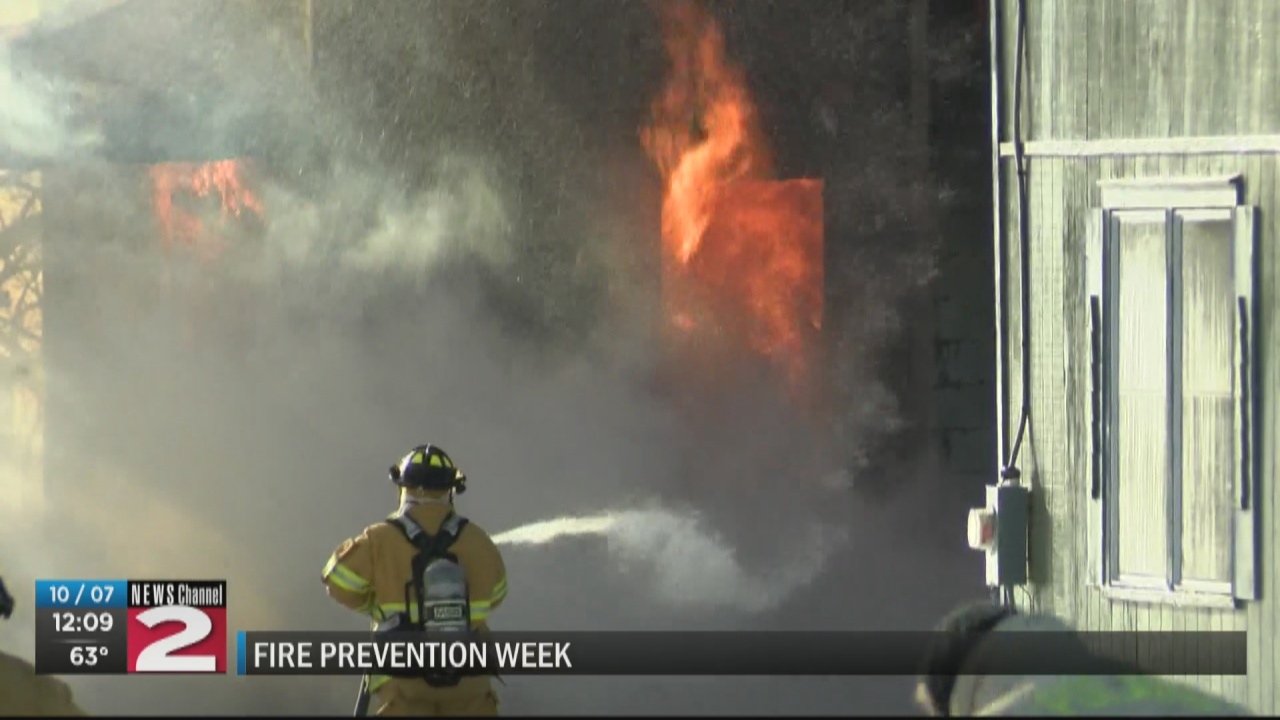 Image for Fire Prevention Week focuses on sounds of fire safety