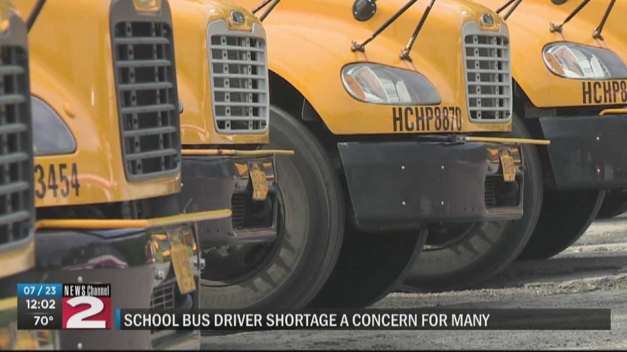 Image for RCSD concerned about shortage of bus drivers as new school year approaches