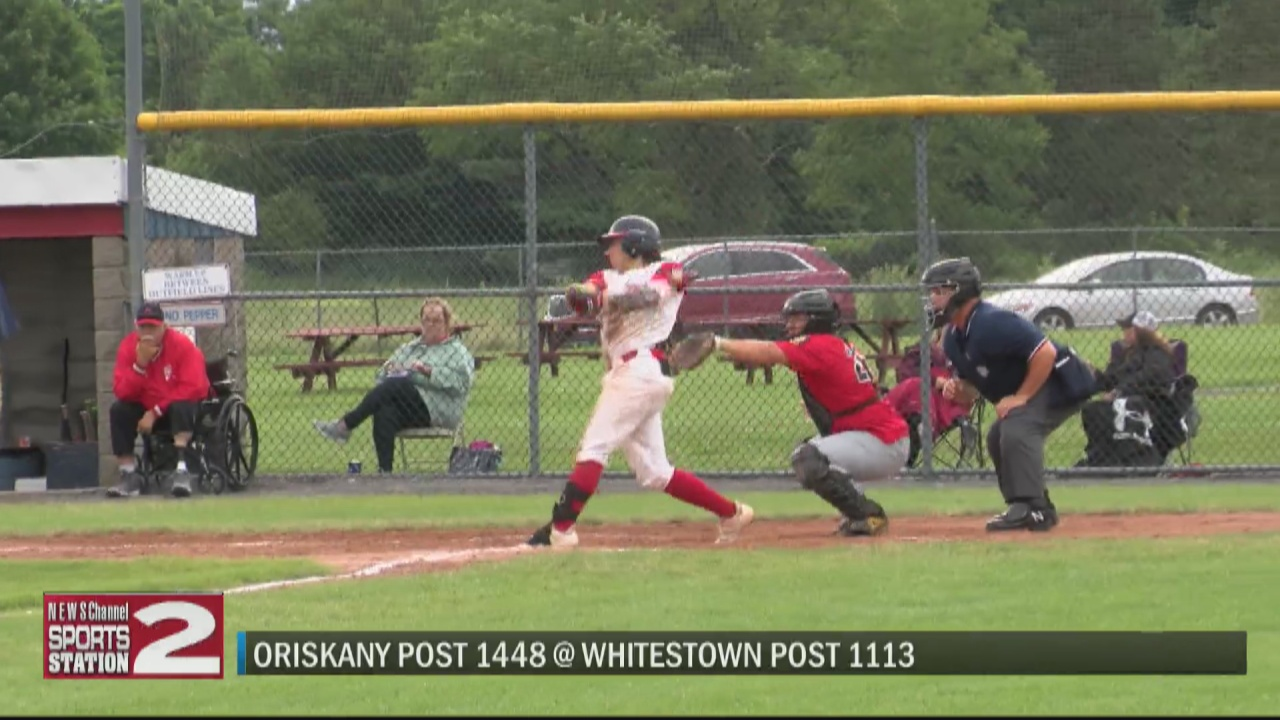 Image for SCORES 7-12-21: Whitestown Post dominates Oriskany Post as District 5 legion baseball playoffs begin