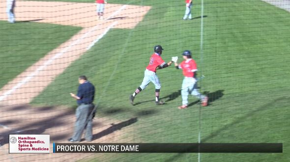 Image for SCORES 5-13-21: Proctor bats come alive in dominant win over Notre Dame