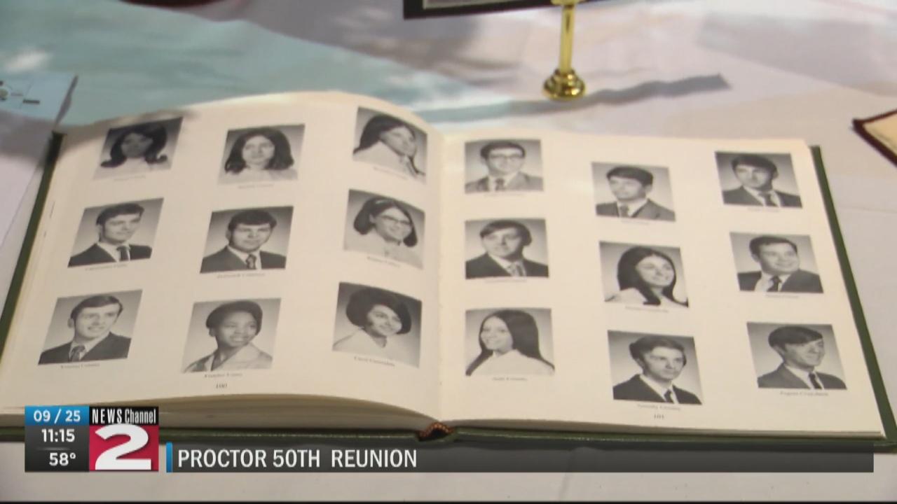 T.R. Proctor class of '71 celebrates 50th reunion