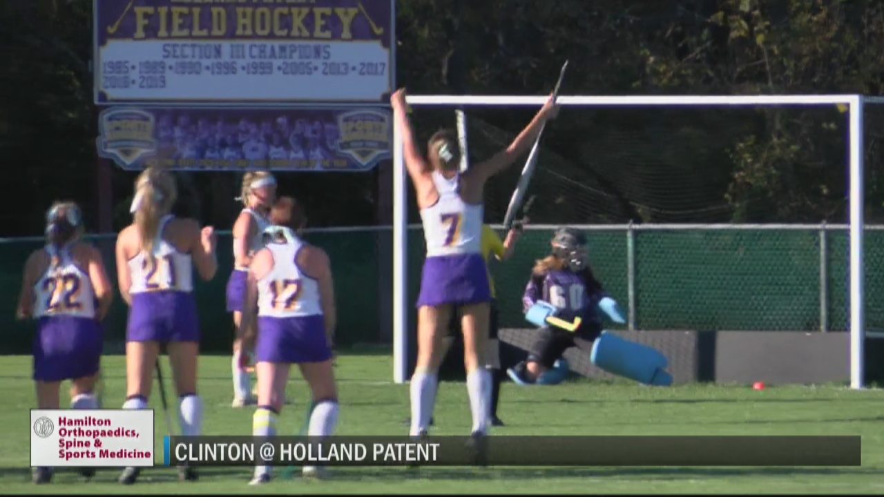 Image for SCORES 10-6-21: Holland Patent field hockey shuts out Clinton; Little Falls girls soccer edges Holland Patent