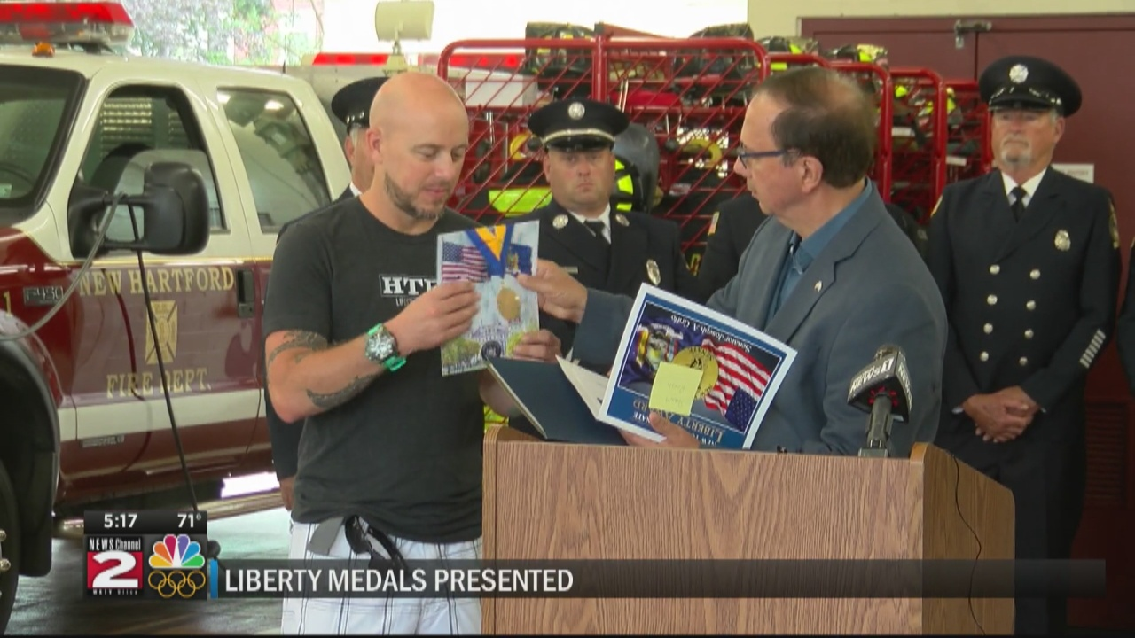 Image for Griffo presents Liberty Medals