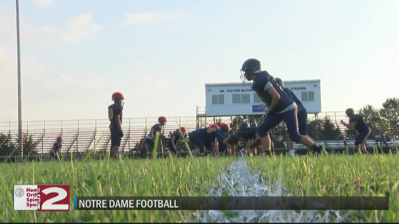 Image for Notre Dame motivated, optimistic with fresh start under new coach