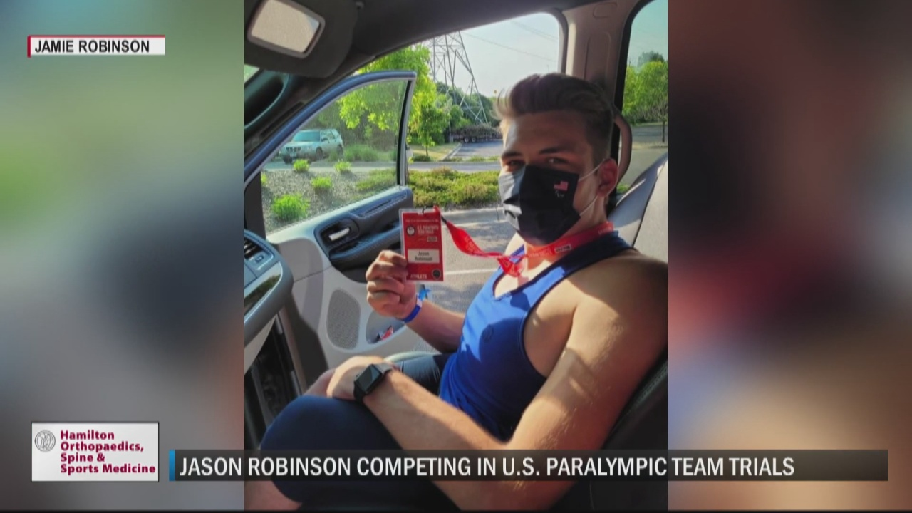 Image for J-Rob inching closer to dream as he gets set to compete in U.S. Paralympic Team Trials