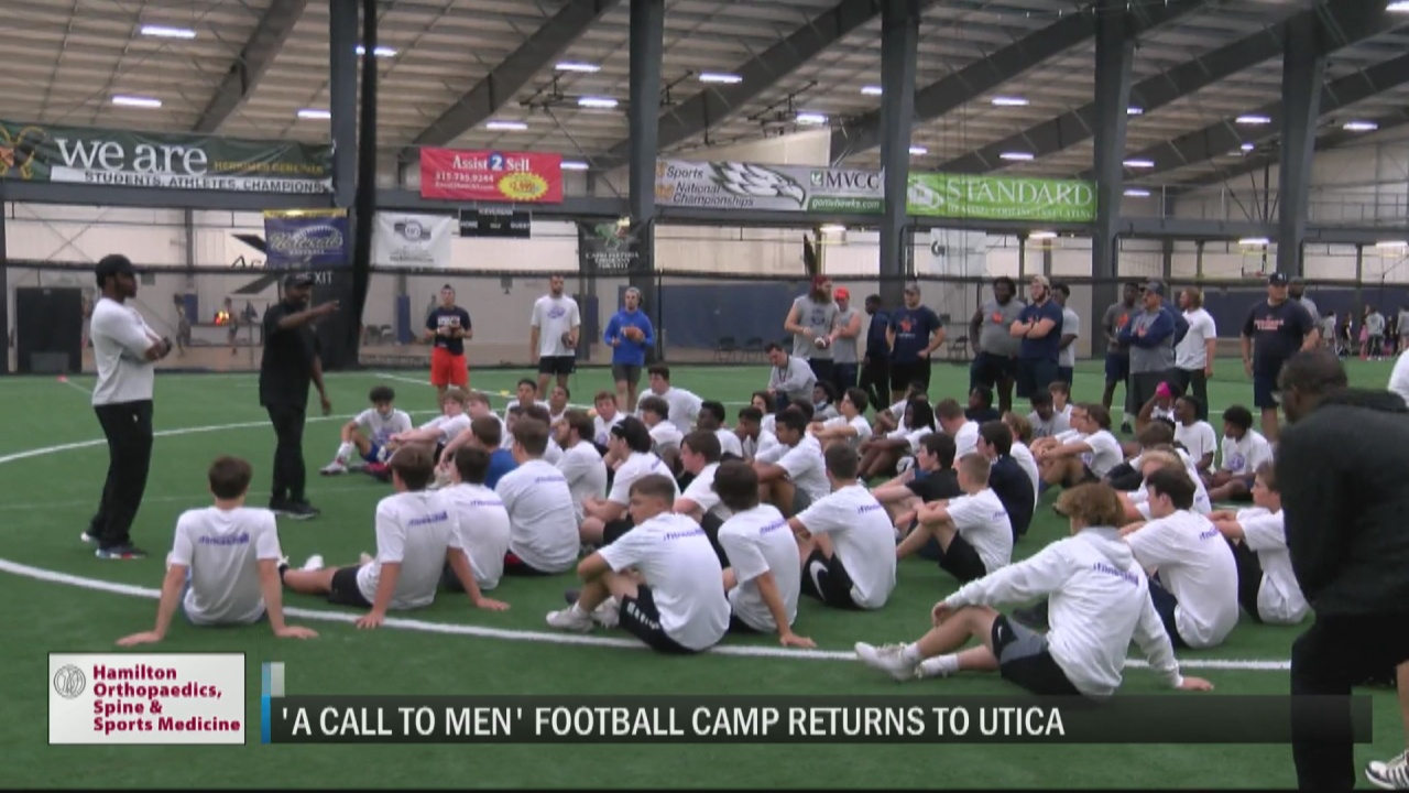 Image for 'A Call to Men' football camp teaches local players important lessons both on and off the field