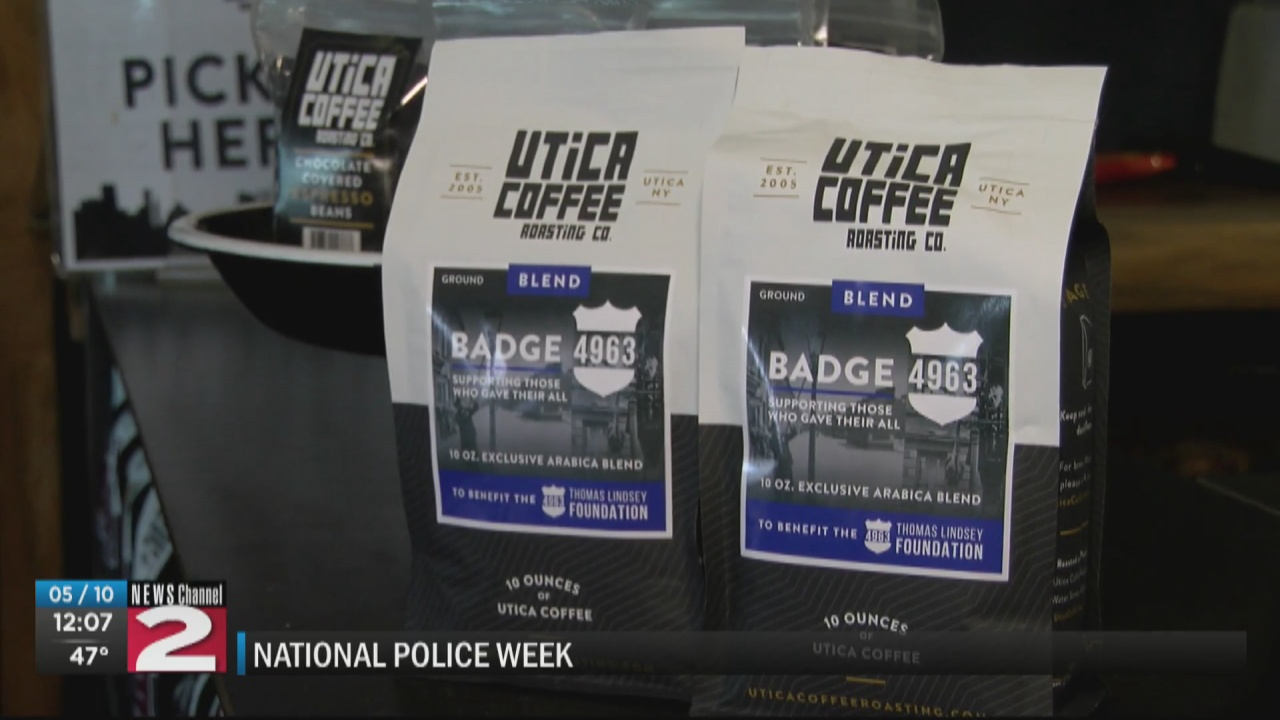 Image for Utica Coffee unveils Badge 4963 Blend in honor of fallen police officer
