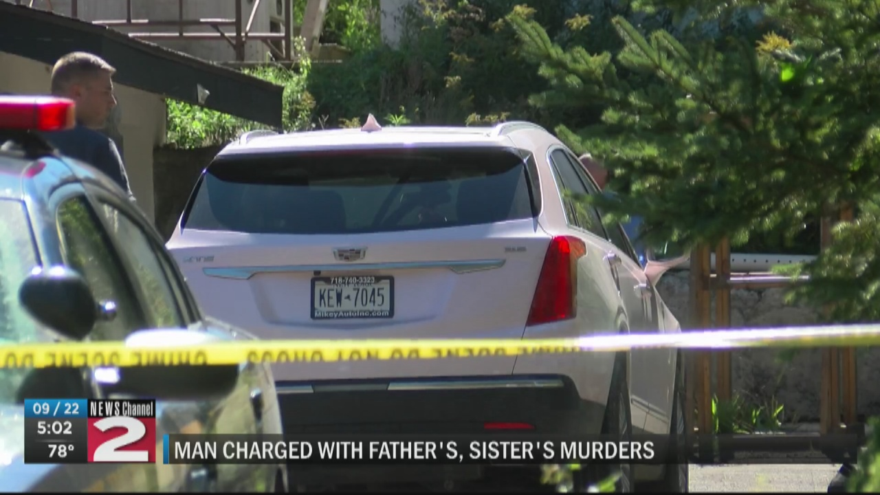Image for Jordanville man charged with murder of father, 12-year-old sister