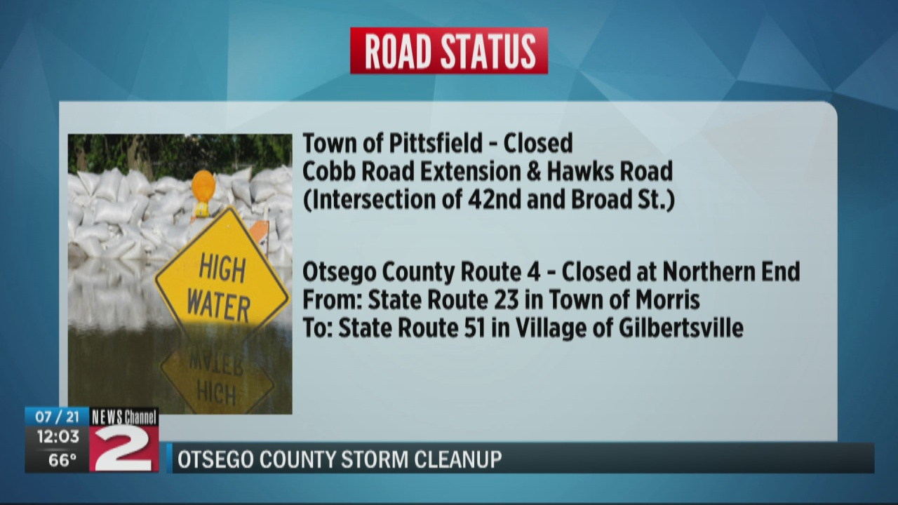 Image for Traffic Alert: Otsego County updates list of road closures