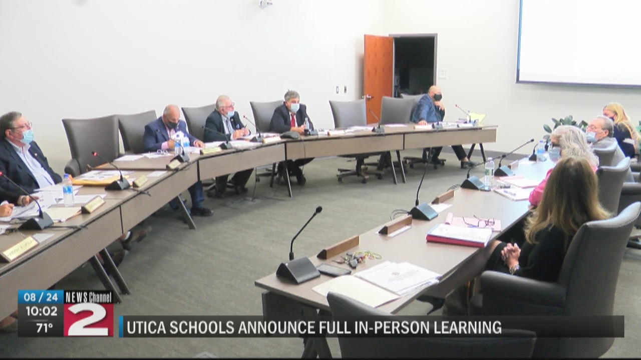 Image for Utica schools announce plans for full in-person learning