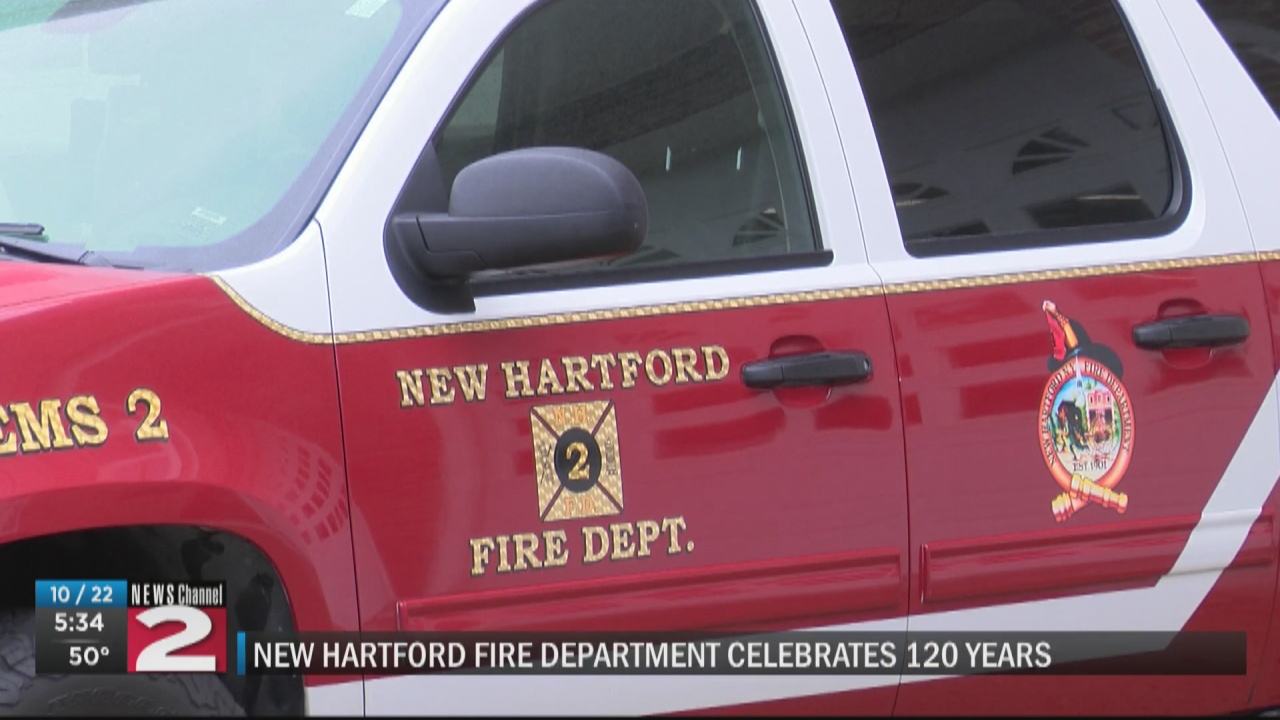 Image for New Hartford Fire Department Celebrates 120th Anniversary