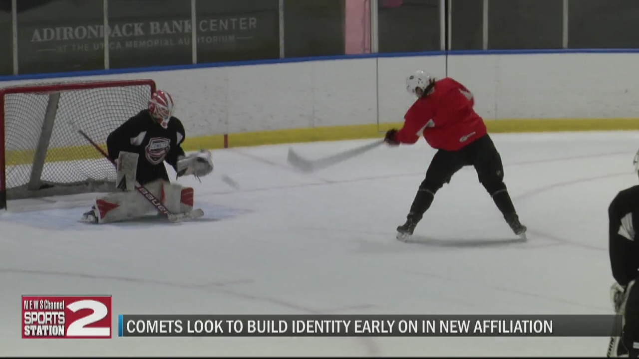 Image for New-look Comets open up 2021-22 season training camp