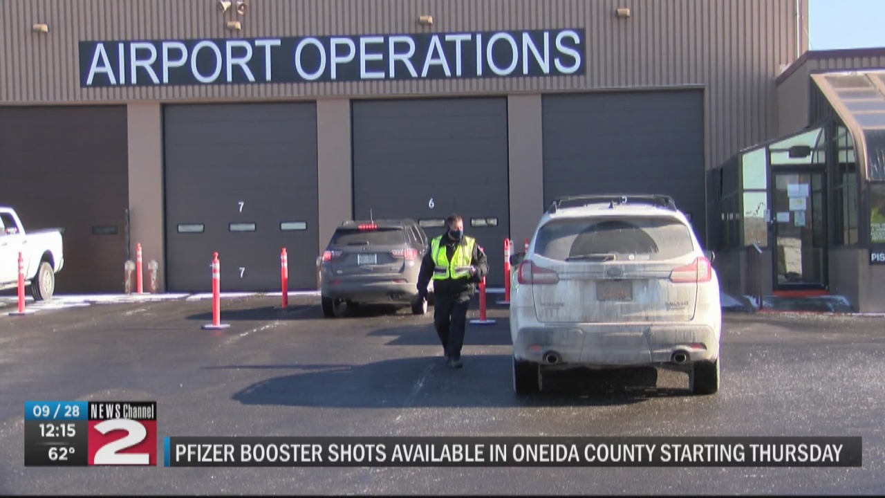 Image for Oneida County holding Pfizer booster vaccine clinics in Rome, Utica