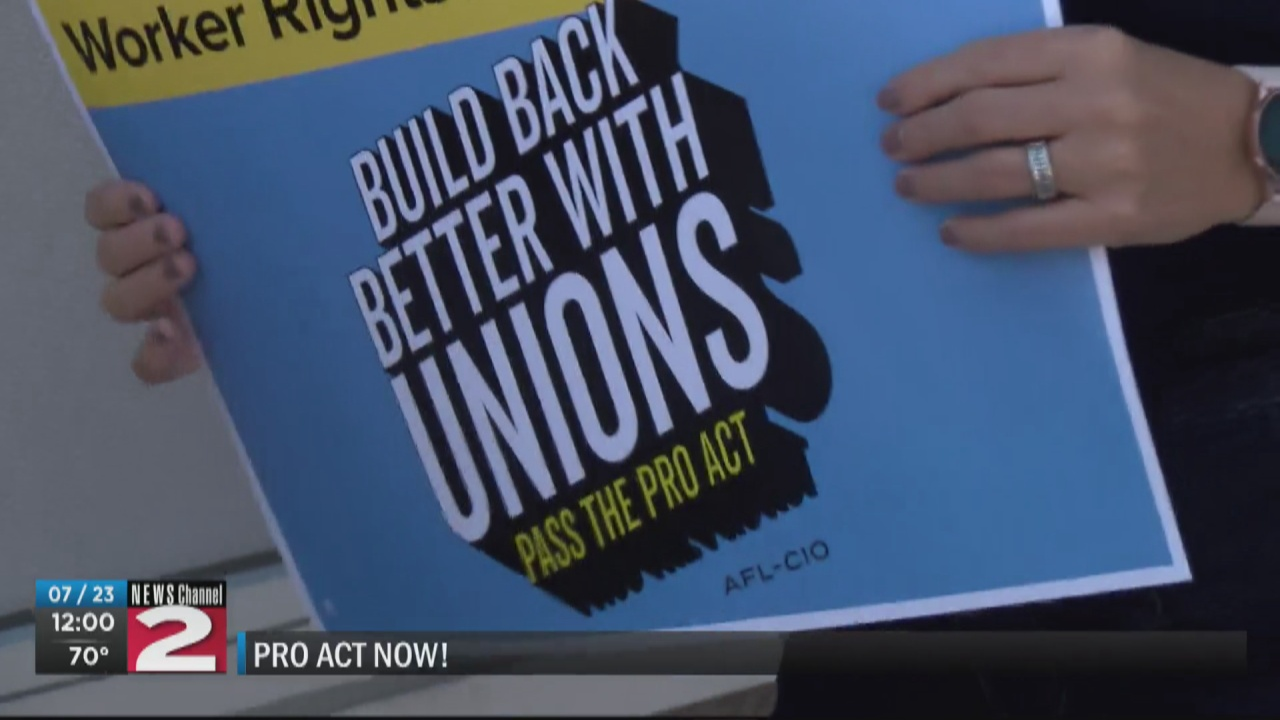 Image for CNY Labor Council urges Senate to pass bill protecting workers' rights