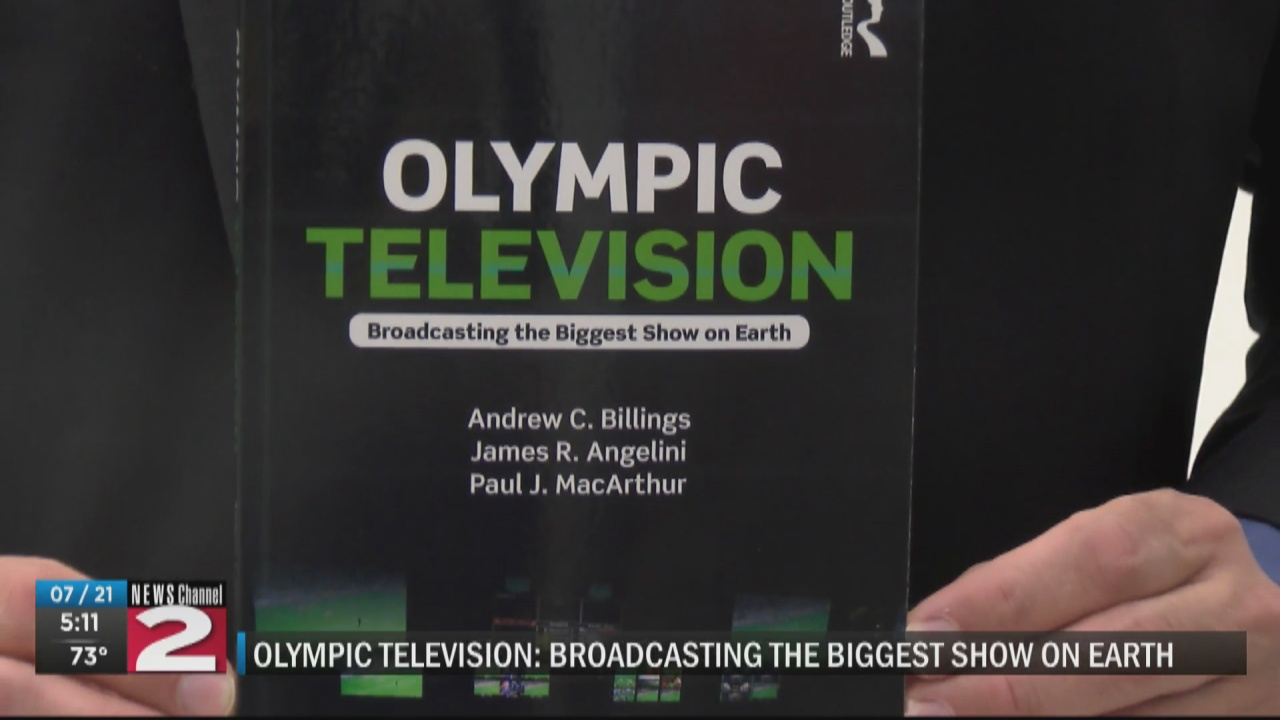 Image for UC professor authors book on Olympics