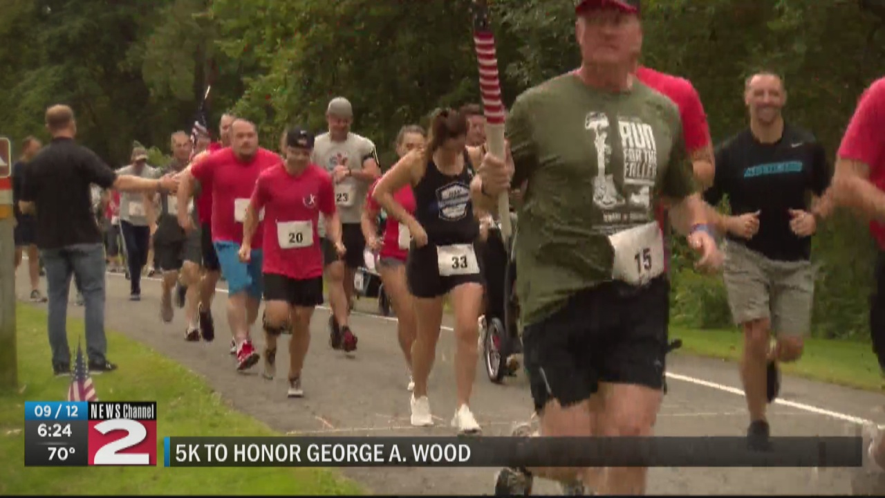 Image for 5K Run and Walk honors late Army Captain George Wood