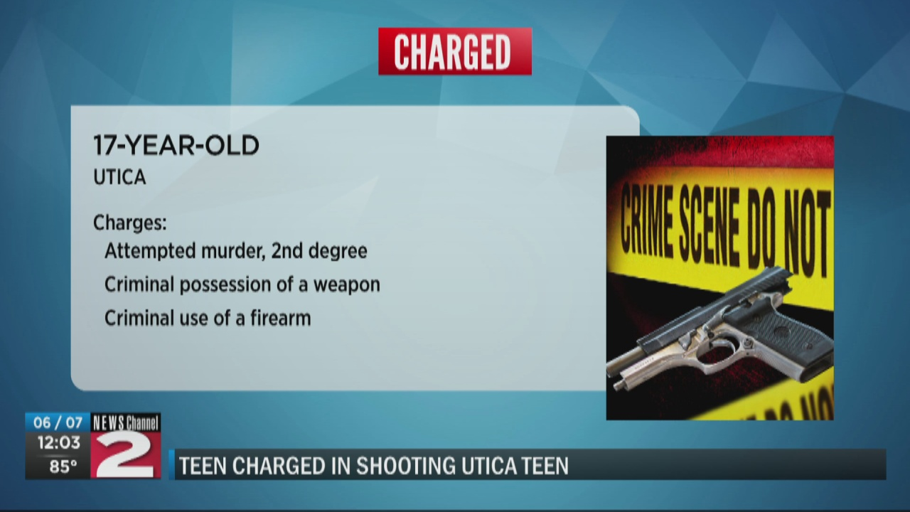 Image for Teen charged with attempted murder of 16-year-old girl shot riding bike in Utica