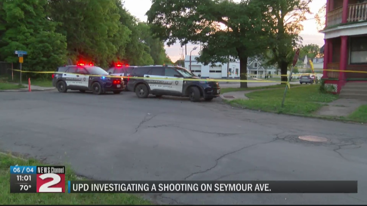 Image for UPD investigating a shooting on Seymour Avenue