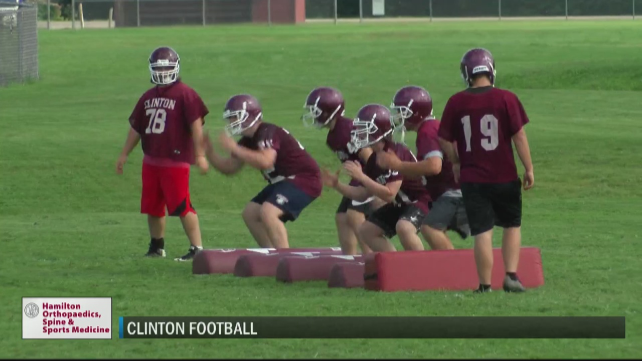 Image for Adapting under new head coach, Clinton optimistic about direction of the program
