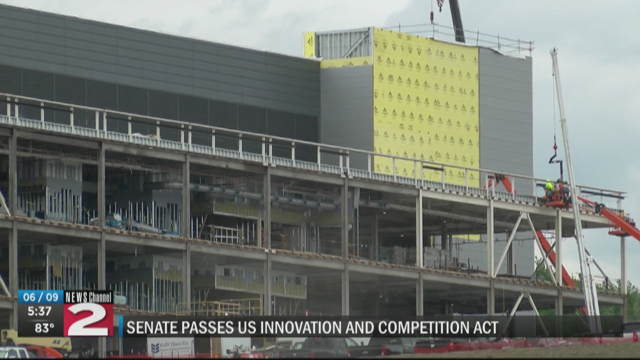 Image for U.S. Senate passes legislation supporting semiconductor industry